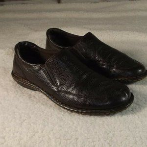 BOC BORN Brown Leather Shoes Flats Loafer 8